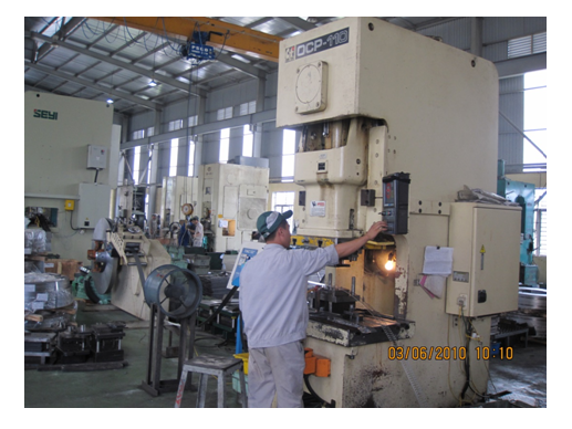 Continuous Punching Line