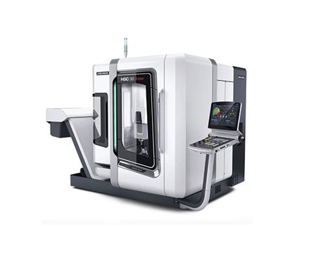 High-Speed Cutting 5-axis Machining Centers - Model: HSC 30 linear /> 									<img u=